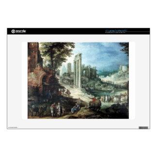 Römische Ruinenlandschaft by Paul Bril Laptop Skins