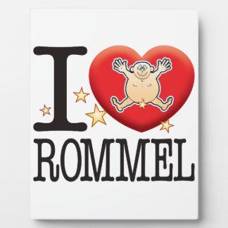 Rommel Love Man Plaques
