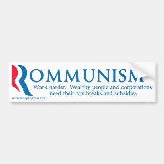Rommunism Bumper Sticker