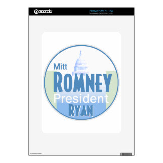 Romnay Ryan Decal For iPad