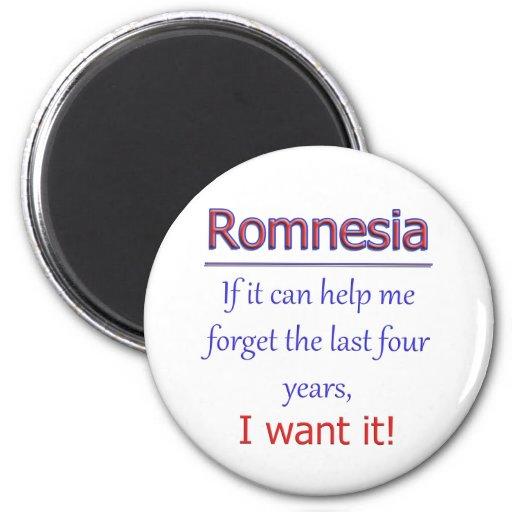 Romnesia - ayúdeme a olvidar imán redondo 5 cm