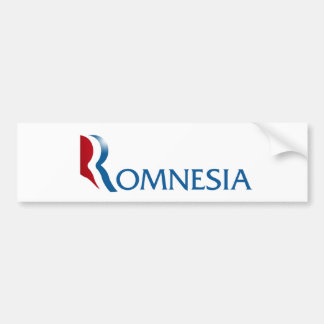 Romnesia Bumper Sticker
