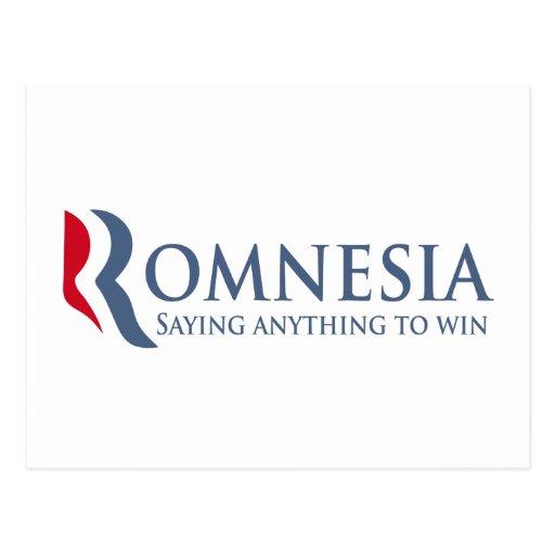 Romnesia - decir cualquier cosa ganar postal
