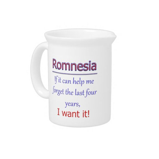 Romnesia - Help Me Forget Beverage Pitcher