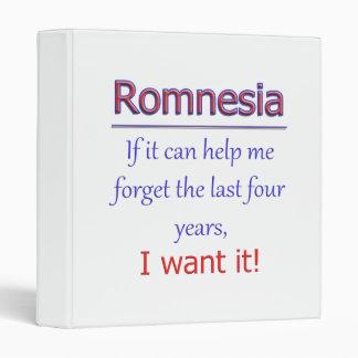 Romnesia - Help Me Forget Binder