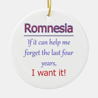 Romnesia - Help Me Forget Ceramic Ornament