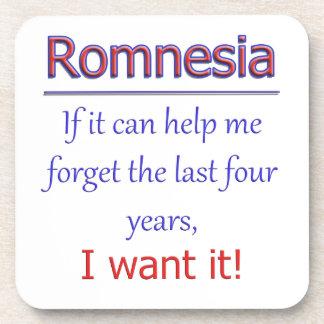 Romnesia - Help Me Forget Coaster