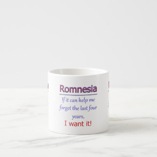 Romnesia - Help Me Forget Espresso Cup