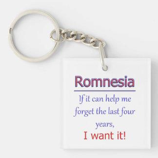 Romnesia - Help Me Forget Keychain