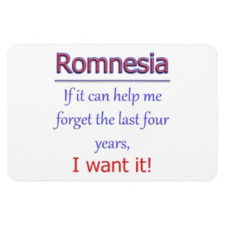 Romnesia - Help Me Forget Magnet