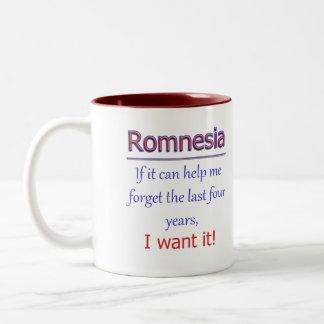 Romnesia - Help Me Forget Two-Tone Coffee Mug