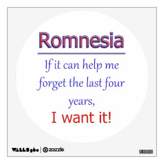 Romnesia - Help Me Forget Wall Decal