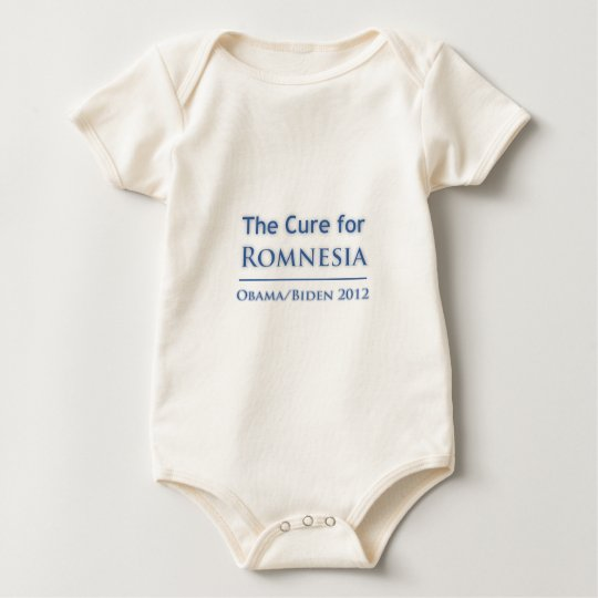 Romnesia - Obama is the Cure! Baby Bodysuit