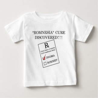 Romnesia Prescription Baby T-Shirt