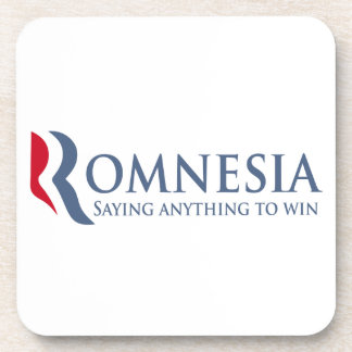 Romnesia - Saying Anything To Win Coaster