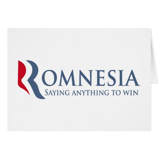 Romnesia - Saying Anything To Win Greeting Card
