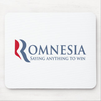 Romnesia - Saying Anything To Win Mouse Pad
