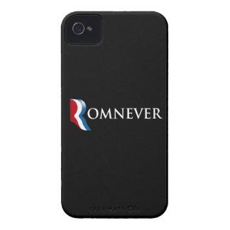 ROMNEVER.png iPhone 4 Case-Mate Coberturas