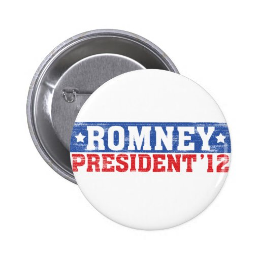 Romney'12 2 Inch Round Button