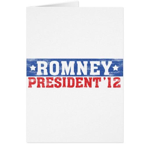 Romney'12 Card
