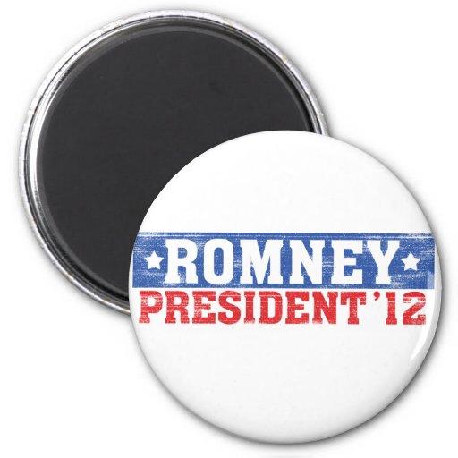 Romney'12 Imán Redondo 5 Cm