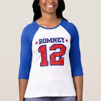 Romney '12, diseño del deporte del equipo playera
