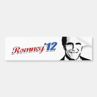 Romney '12 pegatina para auto