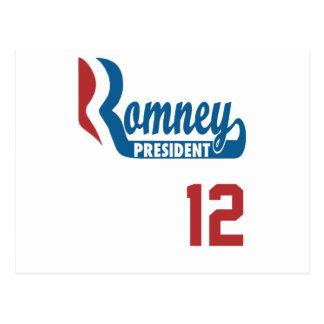 ROMNEY 12 POSTCARD