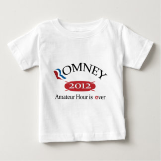 Romney 2012 Amateur Hour Is Over.png Tee Shirt
