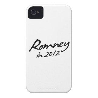 ROMNEY 2012 Autograph iPhone 4 Cases