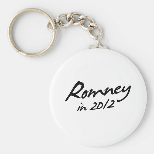 ROMNEY 2012 Autograph Keychain