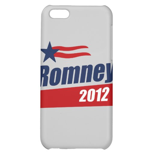 ROMNEY 2012 BANNER- iPhone 5C COVER