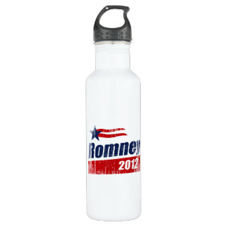 ROMNEY 2012 BANNER- 24OZ WATER BOTTLE