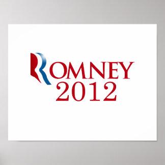 Romney 2012 - Believe in America Posters