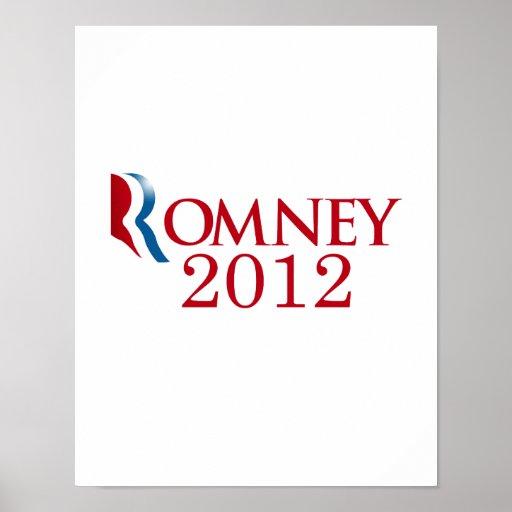 Romney 2012 - Believe in America Poster