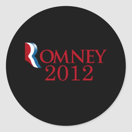 Romney 2012 - Believe in America Sticker
