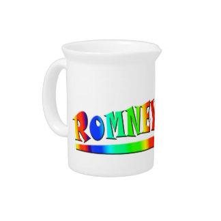 Romney 2012 beverage pitcher