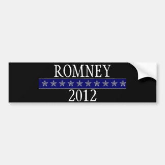 Romney  2012 car bumper sticker