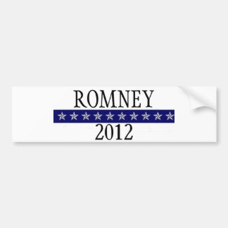 Romney 2012 bumper stickers