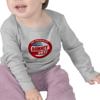 Romney 2012 button shirts