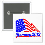 Romney 2012 buttons