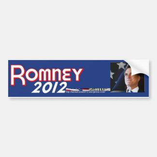 Romney 2012 pegatina de parachoque