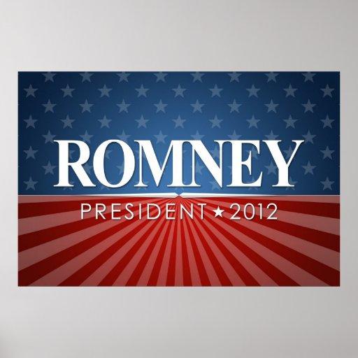 ROMNEY 2012 campaign Print