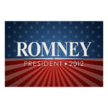 ROMNEY 2012 campaign Print