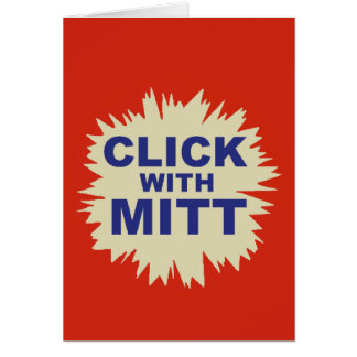 Romney 2012 card