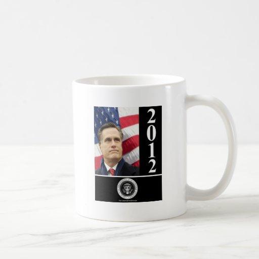 Romney 2012 classic white coffee mug