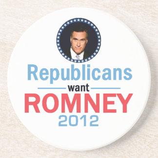 Romney 2012 Coaster