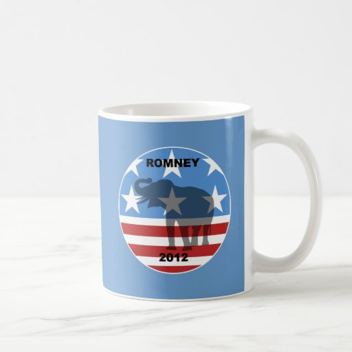 Romney 2012 coffee mug
