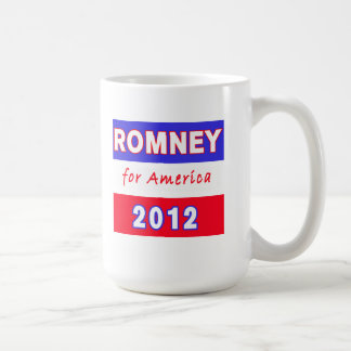 Romney 2012 coffee mug