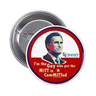 Romney 2012: ComMITTed Button